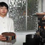 発達障害の15歳が開店、優れた味覚生かしコーヒー豆焙煎
